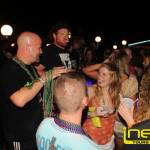 Mardi Gras party at Tequila Sunset